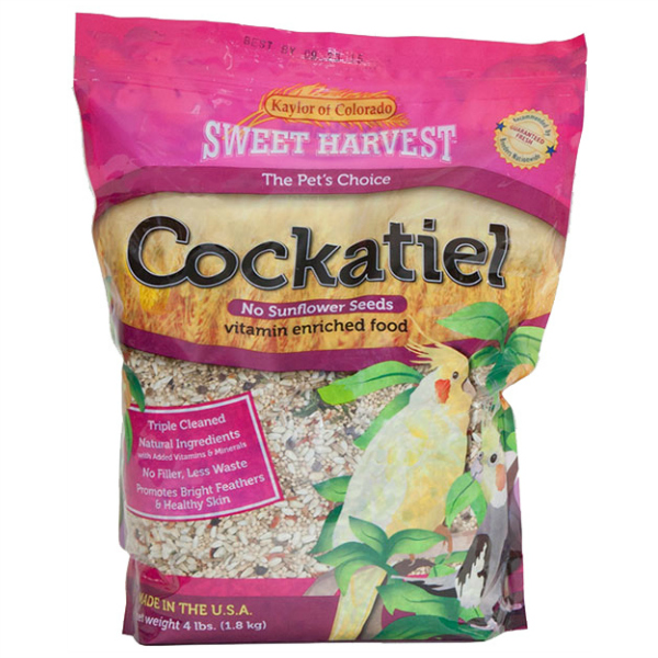 Kaylor's Sweet Harvest Cockatiel NO Sunflower 2 lb (907 g)