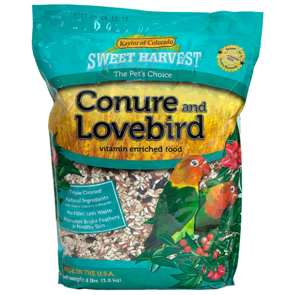 Kaylor's Sweet Harvest Conure Lovebird Mix 2 lb (907 g)