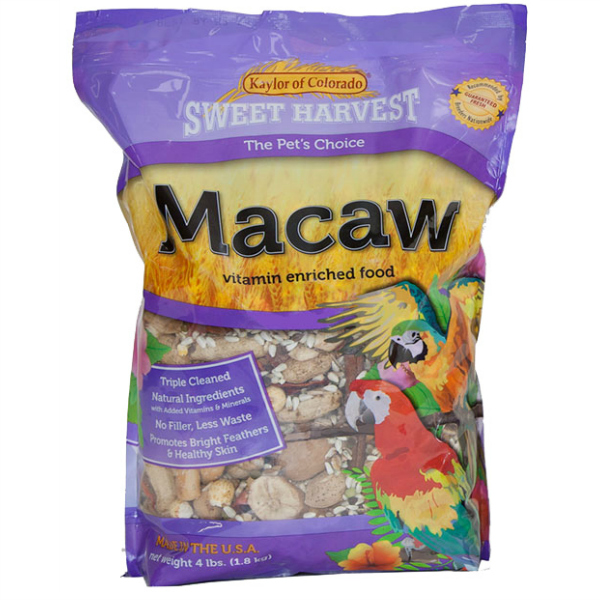 Kaylor's Sweet Harvest Macaw NO Sunflower 20 lb (9.09 kg)