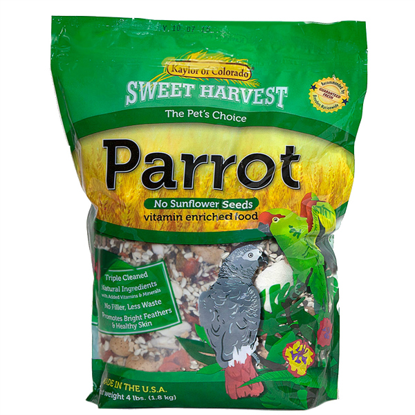 Kaylor's Sweet Harvest Parrot NO Sunflower 20 lb (9.09 kg)