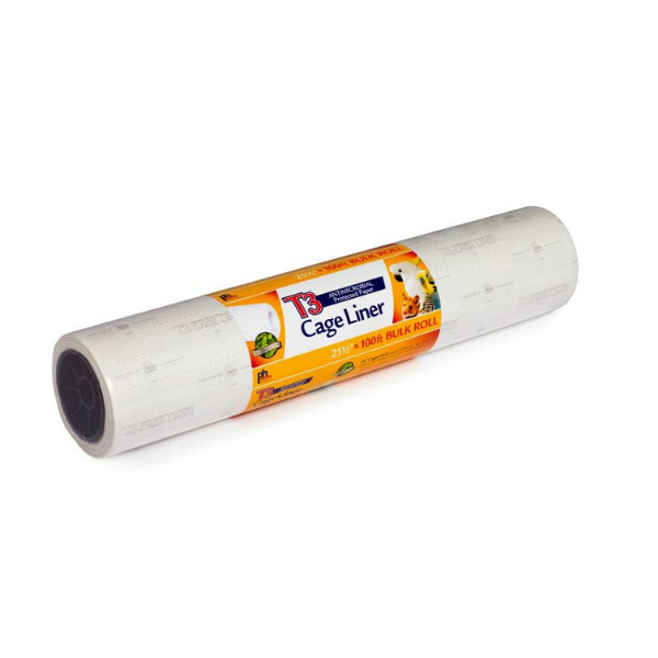 "T3 Bird Cage Liner Paper by Prevue 21-1/2"" x 100' Long"