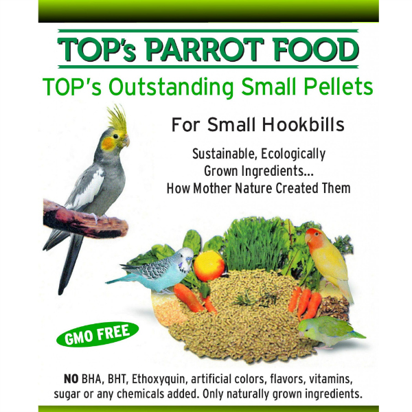 TOPS Bird Food Pellets for Small Parrots 3 lb (1.36 kg)