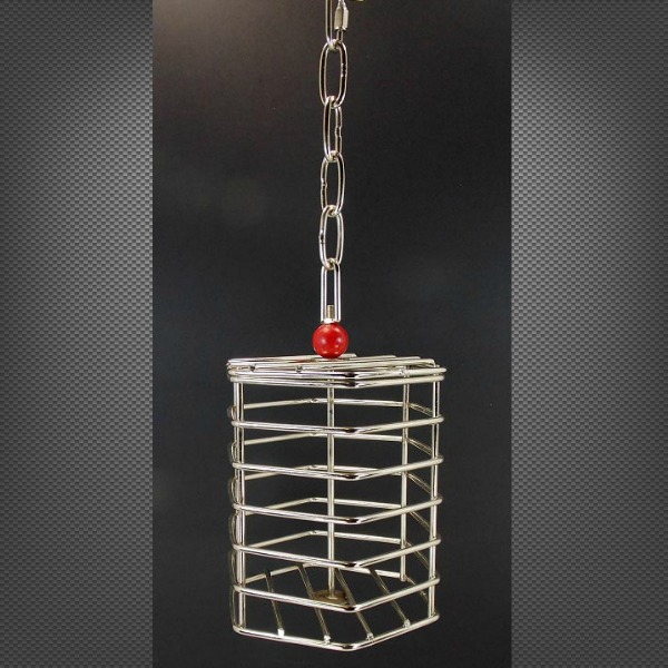 Stainless Steel Foraging Treat Cage Toy Large Parrot
