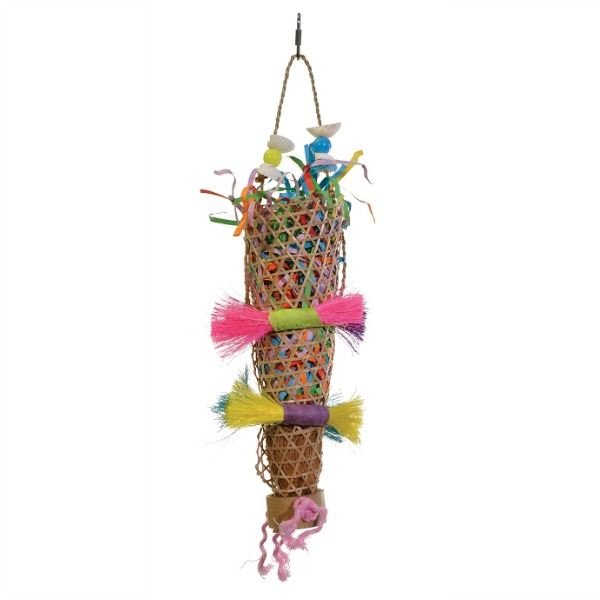 Tropical Teasers Bird Toy by Prevue - Confetti Kazoo