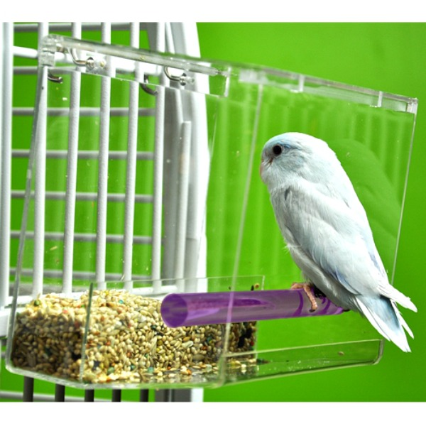 Tweeky Clean Mess Less Pet Bird Feeder Small