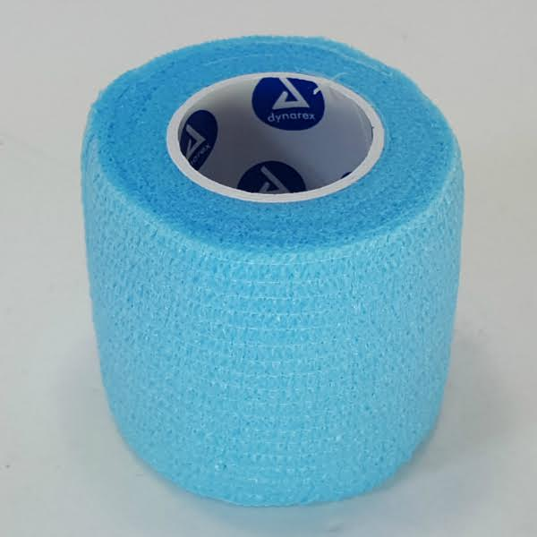 First Aid Self Adhering Tape Vet Wrap No Clips No Adhesive Sky Blue