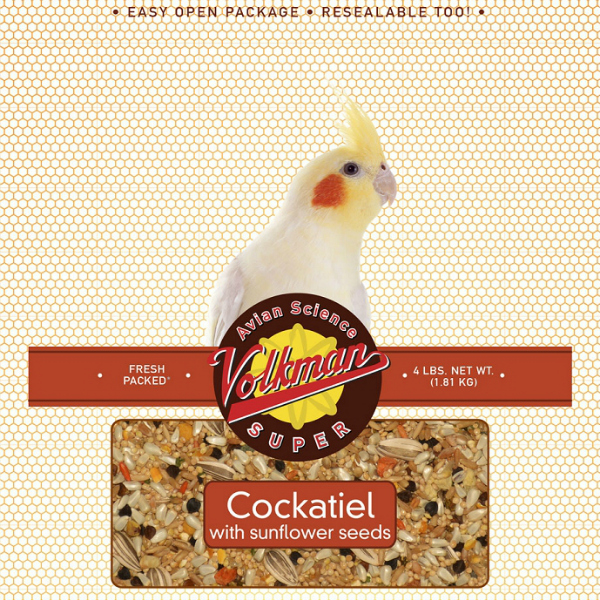 Volkman Avian Science Super Cockatiel Food 2 Lb (.9 Kg)