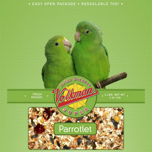 Volkman Avian Science Super Parrotlet Seed 4 lb (1.81 kg)