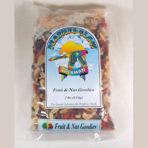 Volkman Featherglow Fruit And Nut Goodies Bird Treat 2 Lb (.9 Kg)