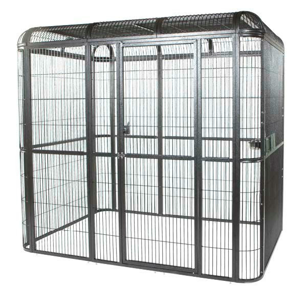 Walk In Indoor Aviary For Medium To Large Parrots by AE WI6262 Black
