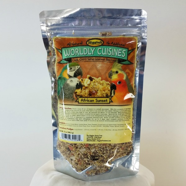 Higgins Worldly Cuisines African Sunset Cookable Food 13 oz (368.5 G)