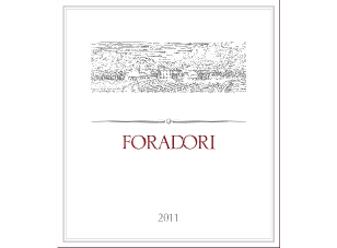 2011 Foradori Teroldego ($28) 90 points