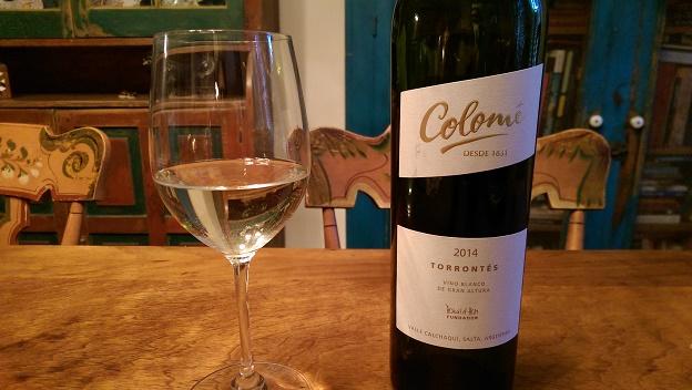 2014 Colomé Torrontés Salta ($15) 90 points
