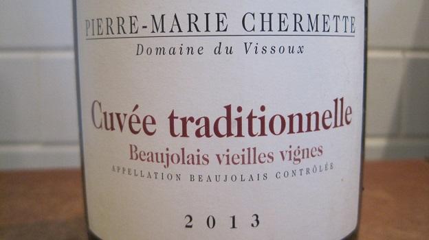 2013 Pierre-Marie Chermette – Domaine du Vissoux Beaujolais Vieilles Vignes Cuvée Traditionelle ($20) 90