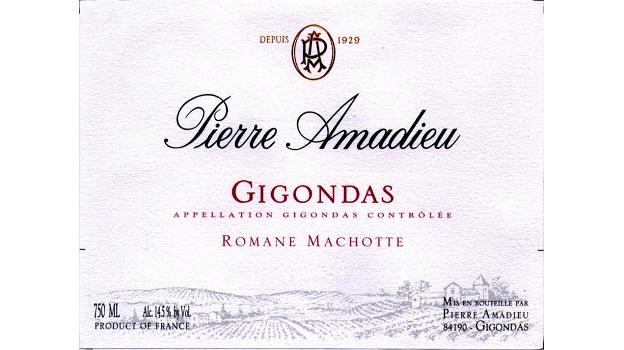 2012 Pierre Amadieu Gigondas Romane-Machotte ($25) 91 points