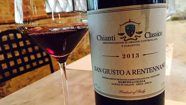 2013 San Giusto a Rentennano Chianti Classico 92 ($29.00)