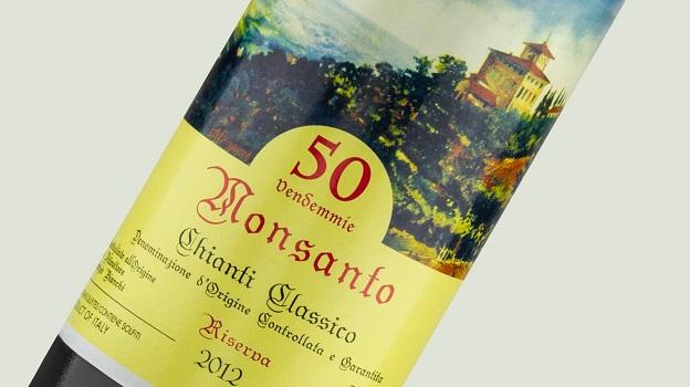 2012 Castello di Monsanto Chianti Classico Riserva 50 Vendemmie ($25) 93 points