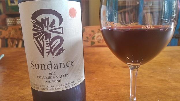 2012 Soos Creek Sundance Red Wine ($20) 89 points