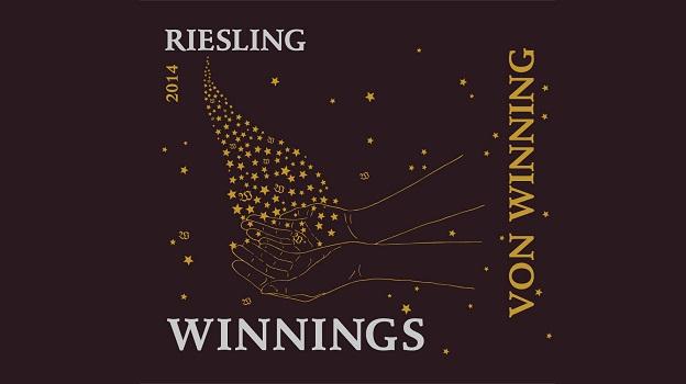 2014 Von Winning Riesling 'Winnings' ($16) 89 points