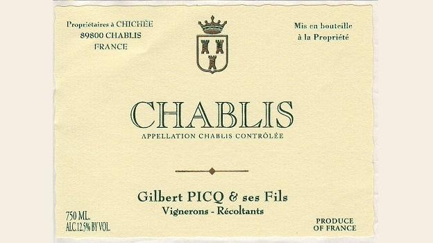2014 Domaine Gilbert Picq & Fils Chablis ($25.00) 90
