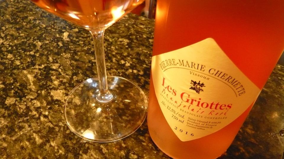 2016 Pierre-Marie Chermette/Vissoux Beaujolais Rosé Les Griottes ($16.00) 90