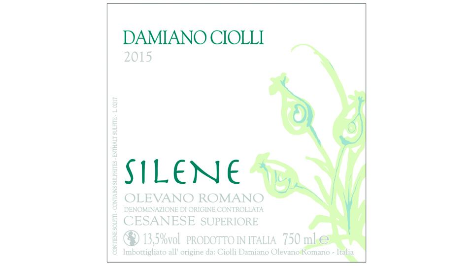 2015 Damiano Ciolli Cesanese di Olevano Romano Superiore Silene ($22.00) 92