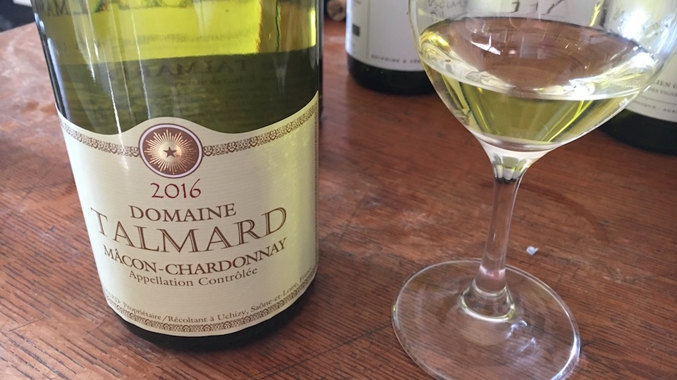 2016 Domaine Gérald Talmard Mâcon-Chardonnay ($17.00) 89
