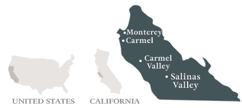 Monterey County Map