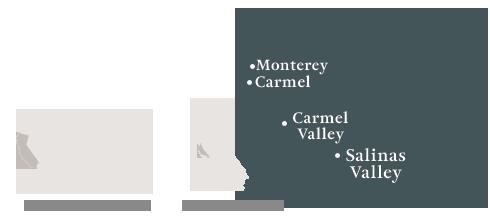 Monterey County Map