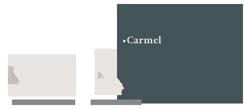 Map of Carmel, CA