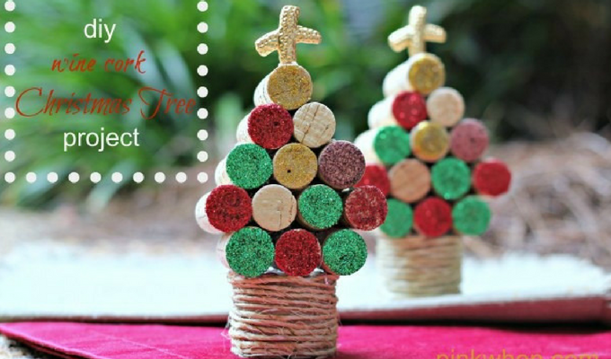 cork-christmas-trees-pinterest