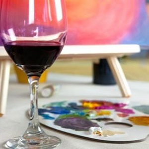 art vino painting class at carter estate winery 04 19
