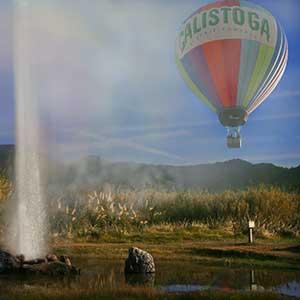 Balloon and Geyser