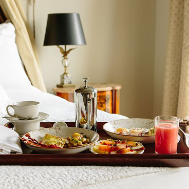 Complimentary French breakfast