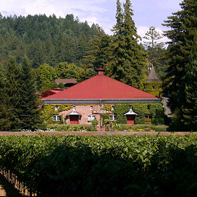 Korbel, the oldest winery in Sonoma County