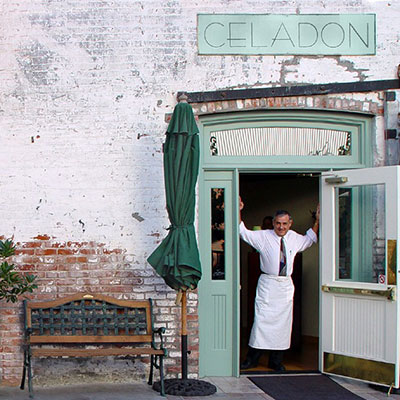 Celadon Restaurant near Napa River Inn