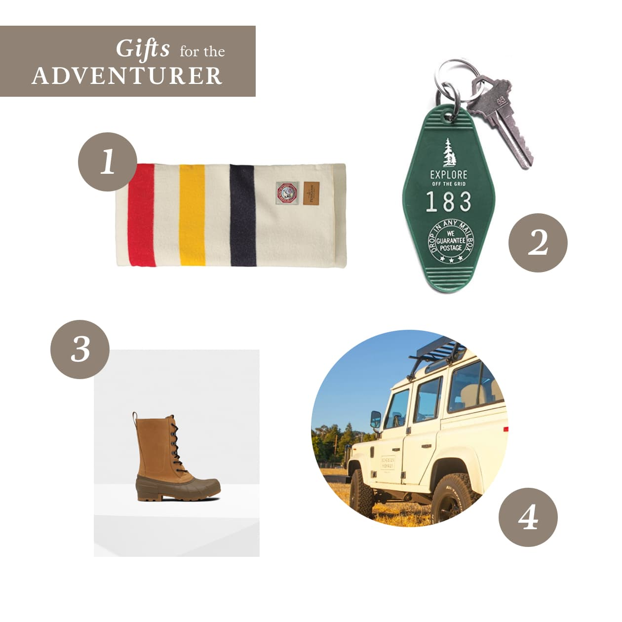2017 WineCountry Holiday Gift Guide - Gifts for the Adventurer
