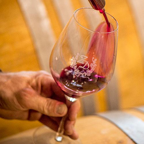 Wine Barrel Sample