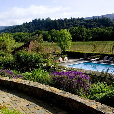 Wine Country Inn pool