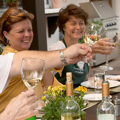 Cooking classes and gourmet retreats