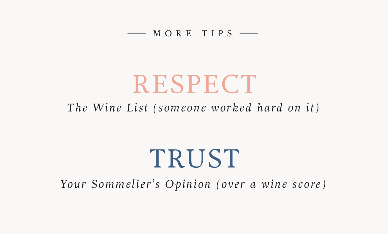 What is a Sommelier? - More tips