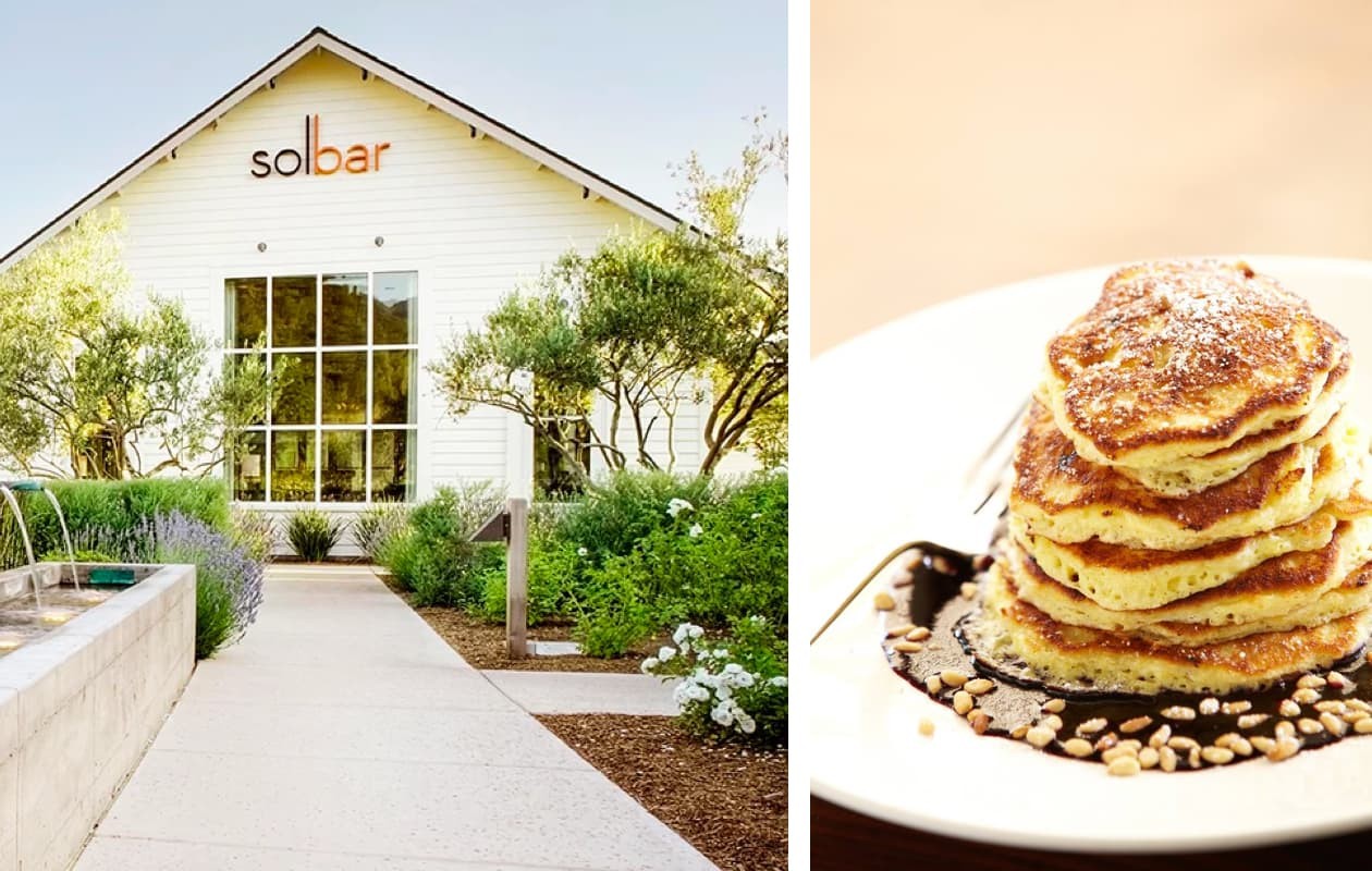Guide to Weekend in Calistoga - Solbar Restaurant