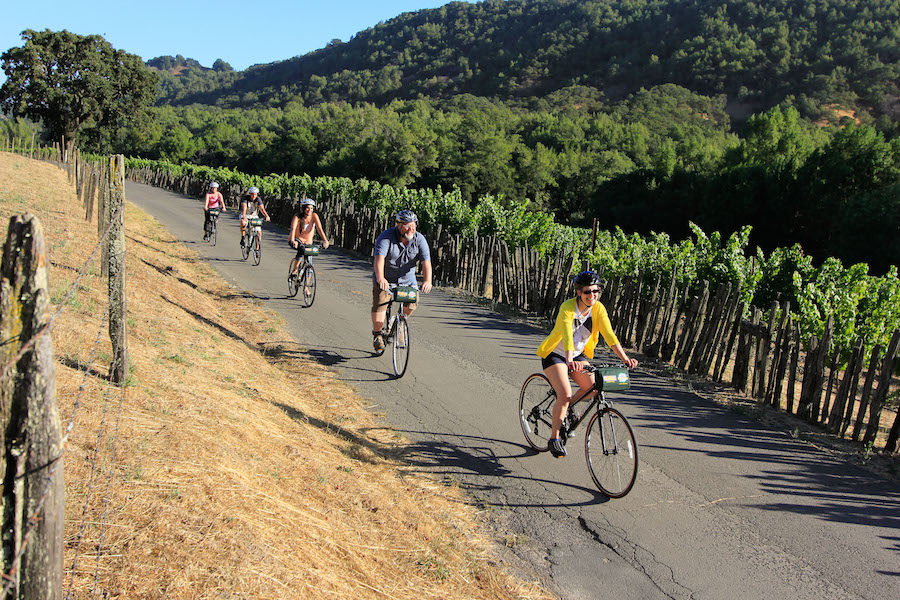 Calistoga Bike Winery Tour