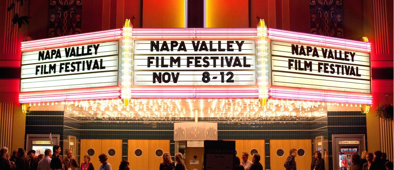Napa Valley Film Festival Marquee 2017