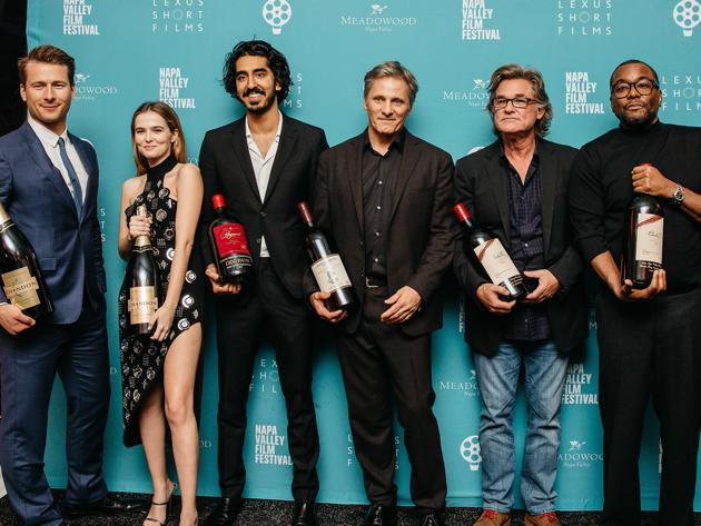 Napa Valley Film Festival Dev Patel Viggo Mortensen