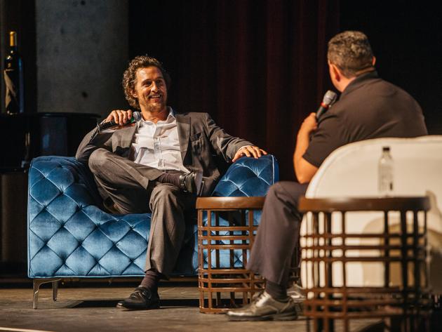 Napa Valley Film Festival Matthew McConaughey Q&A