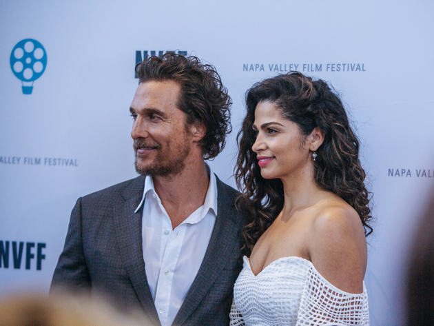 Napa Valley Film Festival Matthew McConaughey on the red carpet