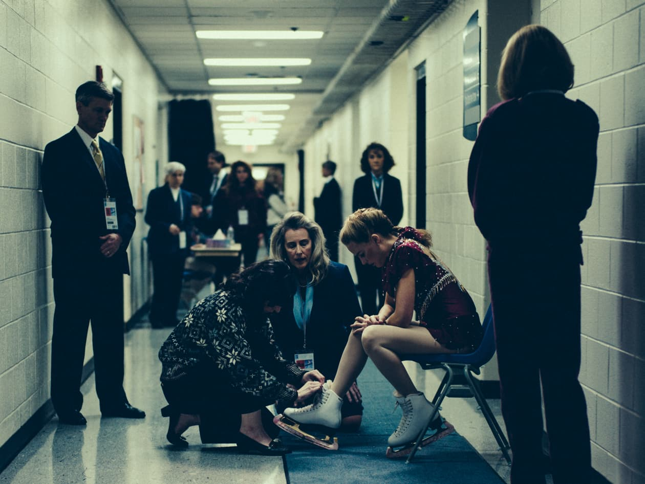 I Tonya Film Still with Margot Robbie
