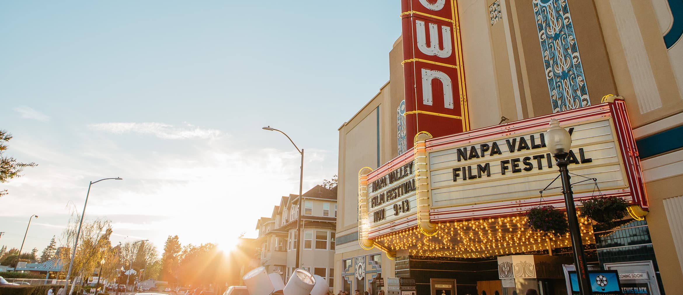 NVFF Uptown Theater Marquee
