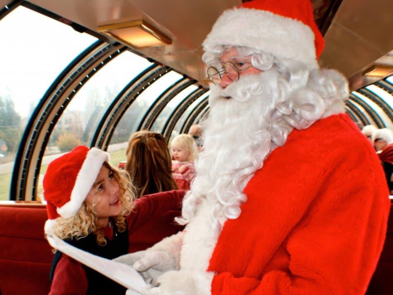 Wine Train Santa Train